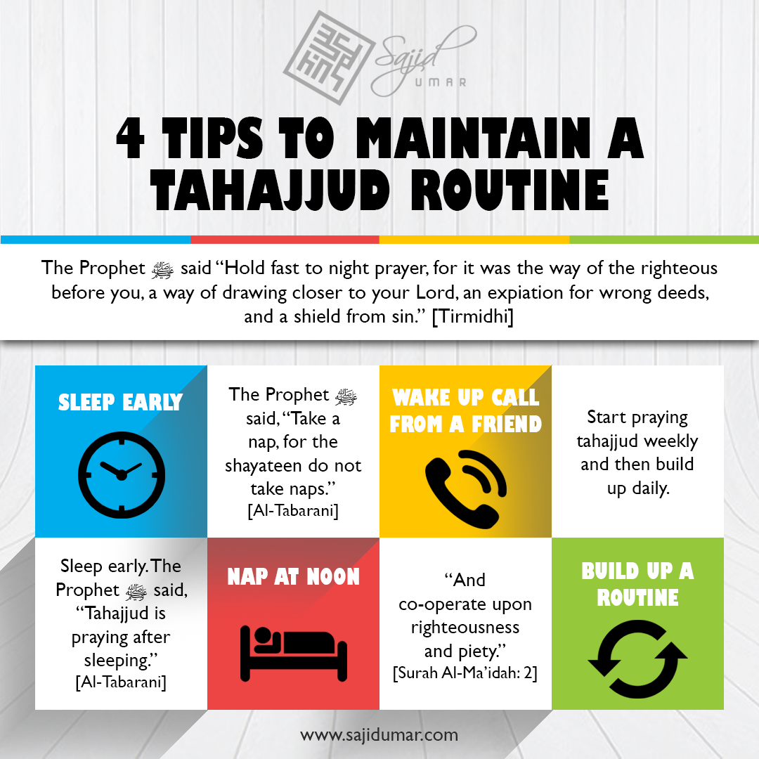 Tips to maintain a tahajjud routine